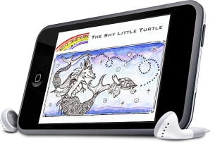 shy turtle ipod